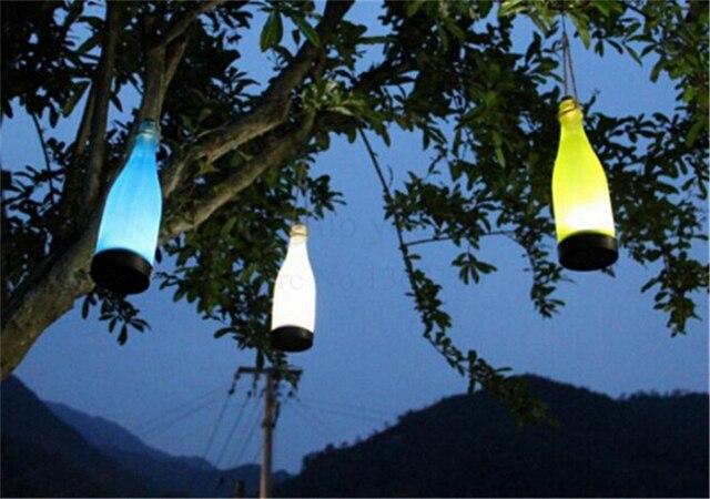Wasserdichte Solarleuchte LED Hängen Flasche Lichter Garten Outdoor ...