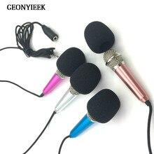 Audio Microphone Desktop-Accessories Mini Speech Stereo Portable Smart for The Handheld