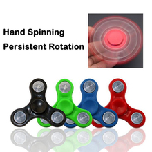 Tri-Spinners Fidget Toys Plastic EDC Hand Spinners For Autism and ADHD Kids/Adult Anti Stress Random Color