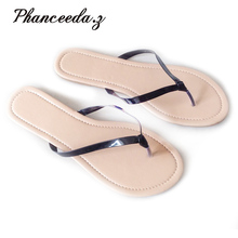 """New 2019 Size 6   9 shoes women sandals  Shoes Summer Style Fashion Slippers Women""""s Flip Flops Top quality Casual Flats"""