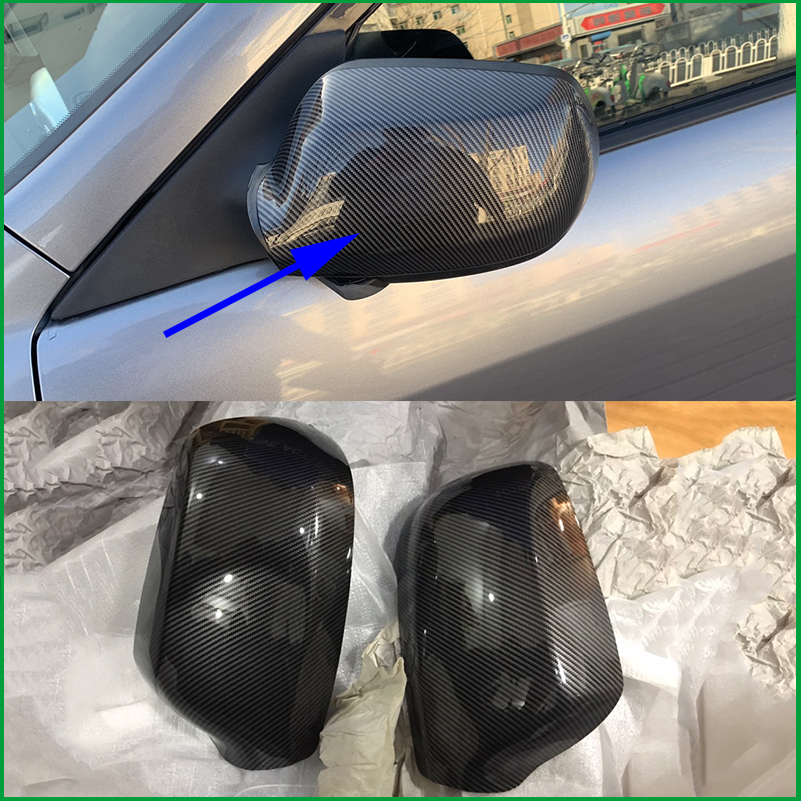Car Styling Door Rearview Mirror Shell Housing Rear view Mirror Cap Cover Trim For Mazda 6 M6 2003 2010|Mirror & Covers| |  - title=