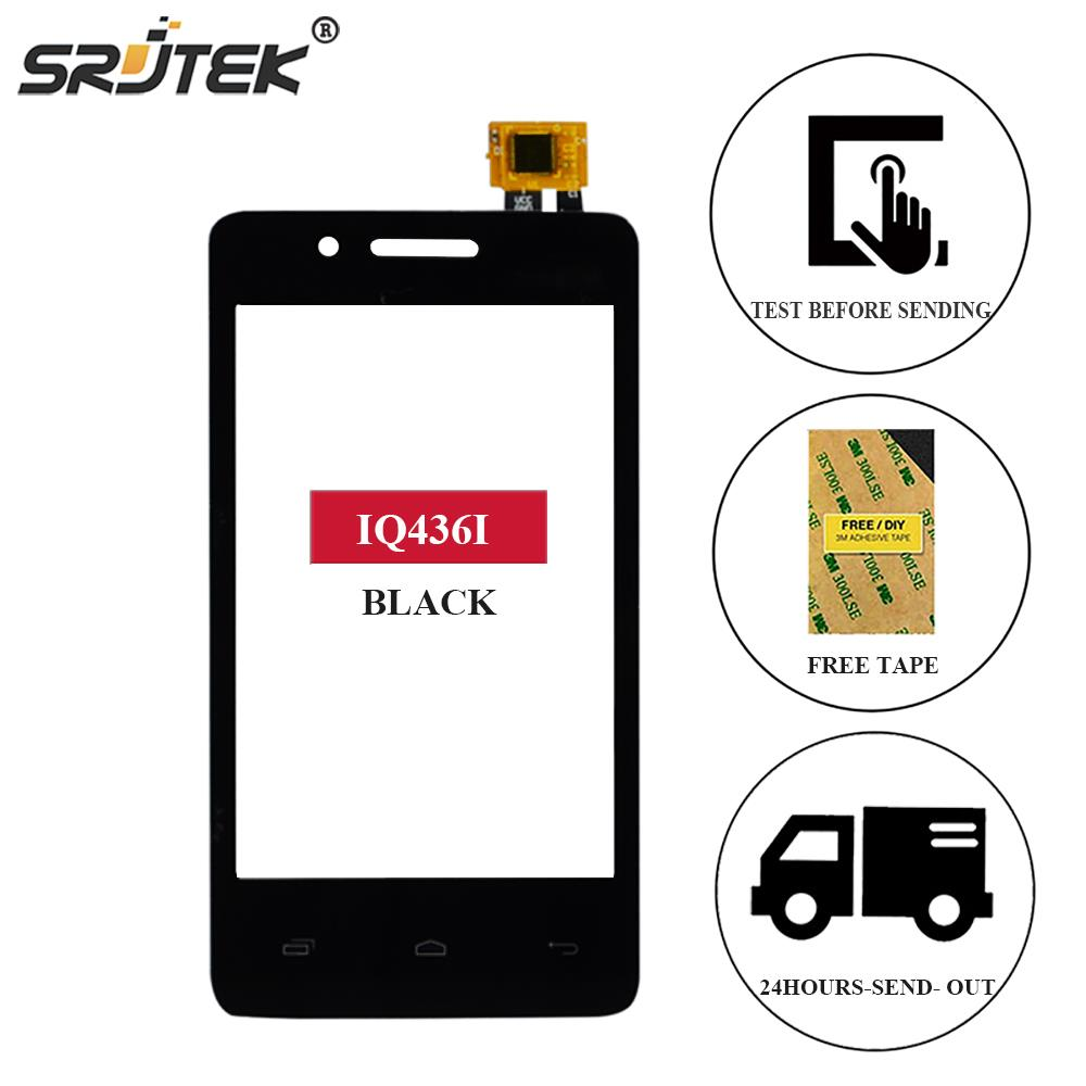 Srjtek For FLY IQ436I ERA Nano 9 IQ 436I Touch Screen Digitizer Sensor Front Glass Panel Replacement 3.5 For FLY IQ436i Touch