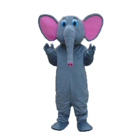 2015 New Elephant Mascot Costumes Long Nose And Big Ear Elephant Costumes