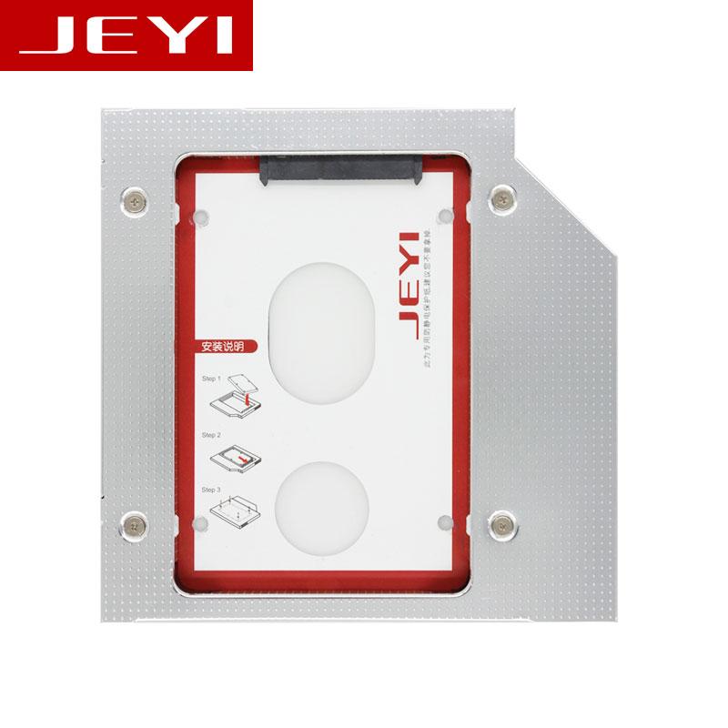 "JEYI D27 Universal 2.5' 2nd 12.7mm 12..5mm SSD HDD SATA optibay hdd caddy 12.7mm Height CD DVD ROM Optical UltraBay Four screws адаптер оптибей 9 5 mm optibay hdd caddy sata minisata slimsata для подключения hdd ssd 2 5"" к ноутбуку espada ss95"