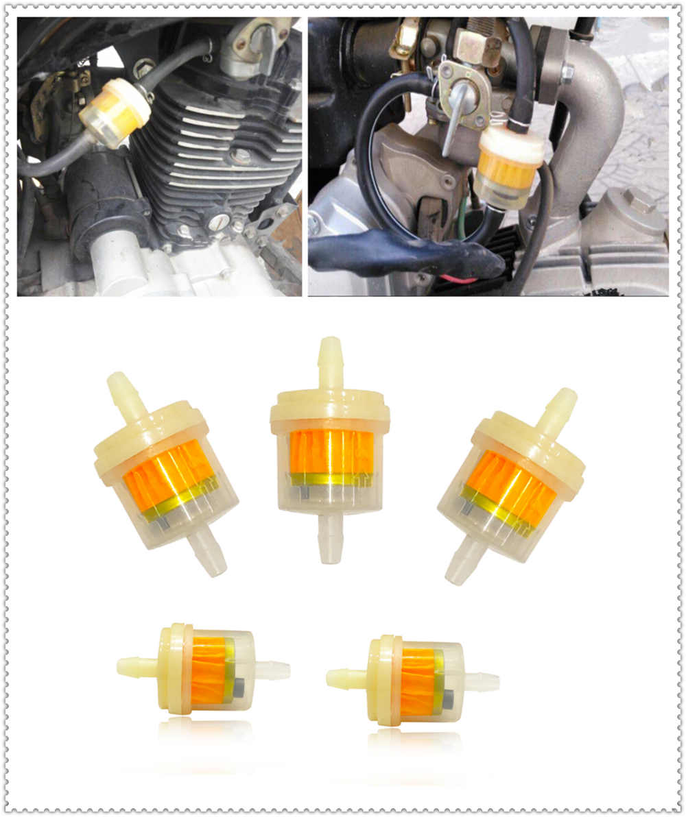 US $0 87 11% OFF Motorcycle gasoline carburetor liquid fuel engine filter  for SUZUKI RGV250 VS800 Intruder VZ800 Marauder Bandit 650S-in Oil Filters