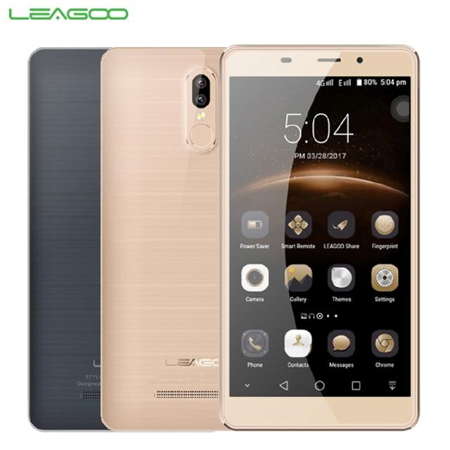 Original Leagoo M8 Pro Cell Phone 2GB RAM 16GB ROM MT6737 Quad Core 5.7 inch Android 6.0 HD Dual Back Cameras 3500mAh Smartphone