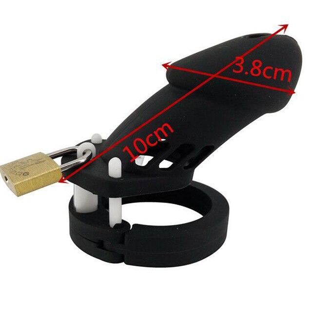 Legal Silicone masculino Castidade CB6000 preto macio anel peniano alargamento do caralho gaiola penis gaiola sex toys para casais