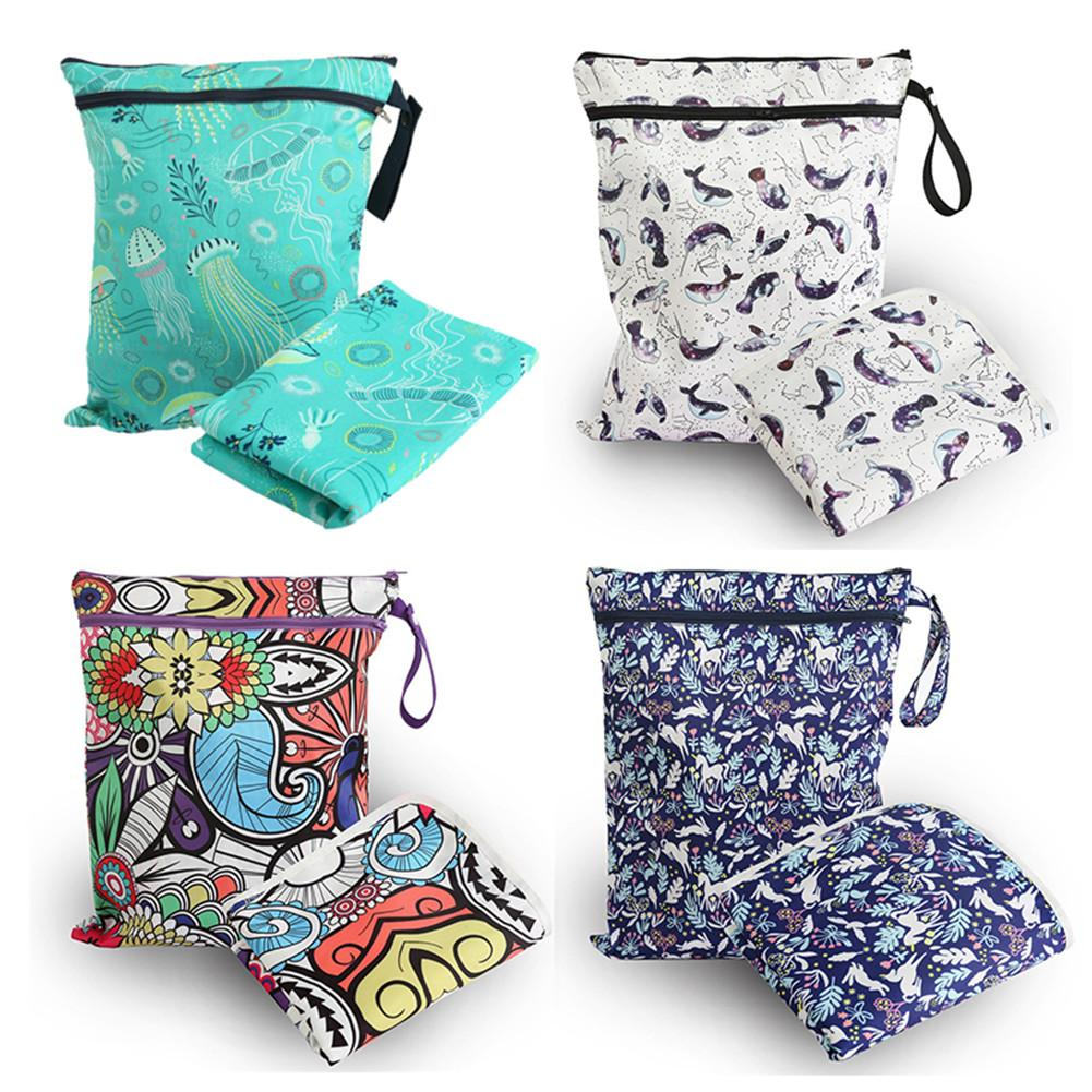 4 Styles Diaphragm Replacement Pad Waterproof Baby Diaper Bag Insulation Pads Children Toy Pack With Storage Bag