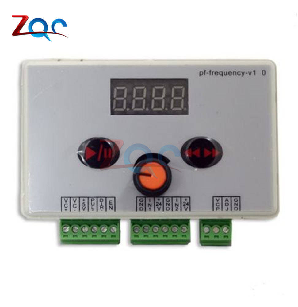 Reversible Motor Controller Speed Regulator Pulse Signal Controller for Stepper Motor Stepper Power Supply 40-200KHZ цена