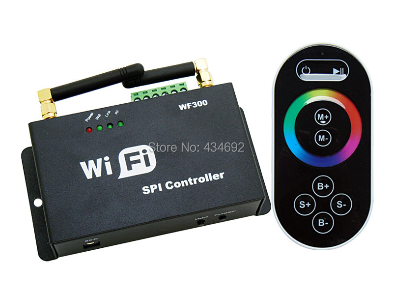 Aliexpress Com Buy Dc5 24v Wifi Spi Controller Touch Rf