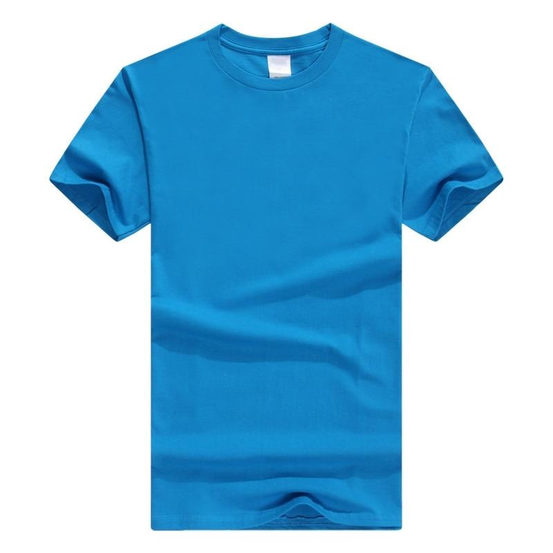 #188 Nouveau Hommes butin décontracté t shirt Hommes courtes manches de tissus tricotés hommes t-shirt 15 couleurs 5 taille t-shirt homme