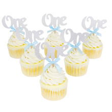 1st Birthday Cupcake Topper Cake Decoration Baby Shower Decorating Tools