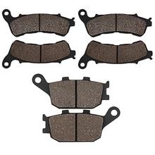 Front and Rear Brake Pads for HONDA CBR600 11-13 CBF600 CBF 600 08-12 CB600 CB 600 07-13 CB1100 CB 1100 ABS 2013 2014 Motorcycle стоимость
