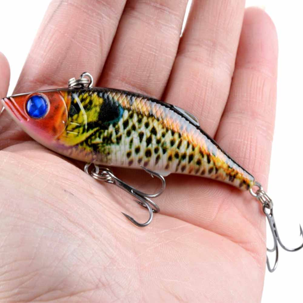 Fulljion Fishing lures VIB Lifelike Wobblers Painting Series Swimbaits for All Water Hard Baits Artificial Pesca 8cm 11.8g 9pcs lifelike plastic hard crank floating wobblers double fishing hook artificial fishing lures baits crankbait 1 8 4g pesca