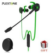 משחקי אוזניות עם מיקרופון באוזן סטריאו בס רעש ביטול אוזניות עם מיקרופון עבור טלפון מחשב נייד Plextone G30