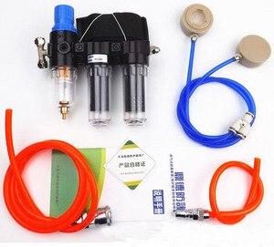 Image 3 - 2 In 1 Industrie Funktion Geliefert Air Federal Atemschutzmaske System Mit 6200 Half Face Labor Chemische Gasmaske