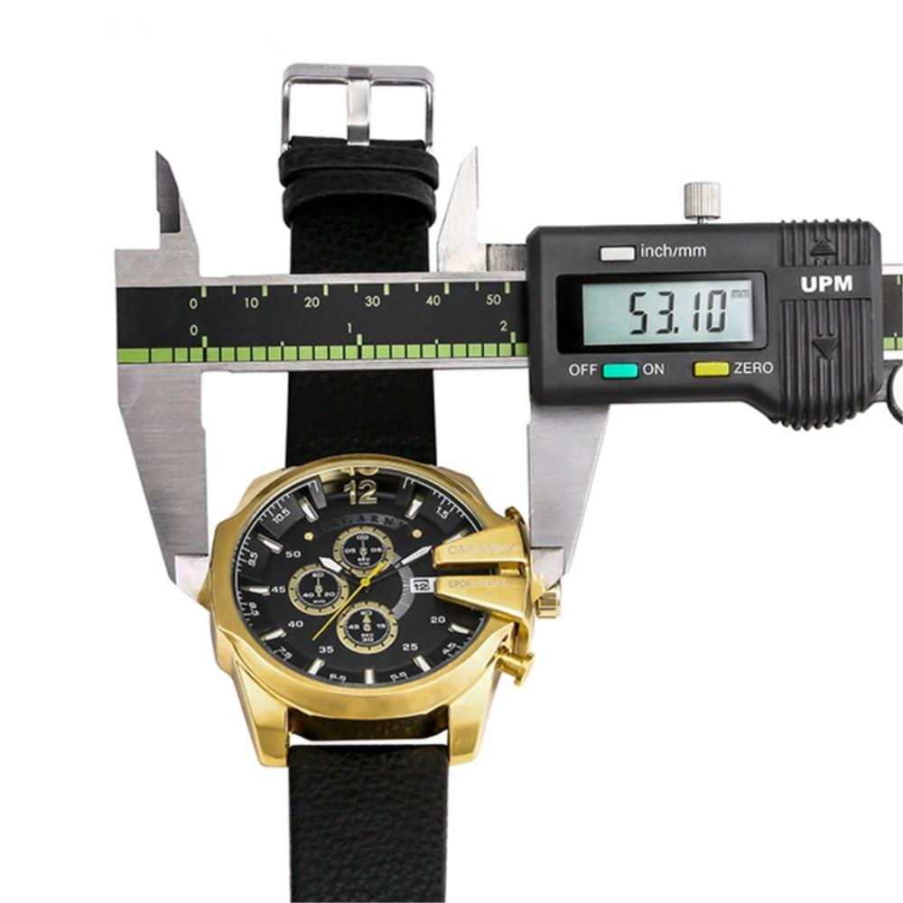 CAGARNY órák férfi luxus márka nagy tárcsázás sportóra - Férfi órák - Fénykép 6