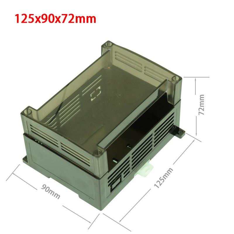 Transparent PLC Industrial Control Box Panel PLC Enclousure Case DIY PCB Shell
