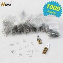 Nail cutter, straight melt knife, curved melt knife,hot stapler ironing tool,hot stapler replacement staples 1000pk(HS-012X)