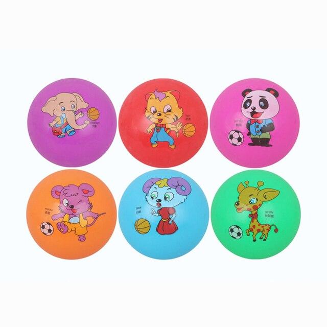 Us 725 15 Cm Spielzeug Ball Kinder Tiere Cartoon Sport Aufblasbare Spielzeug Pvc Kunststoff Outdoor Indoor Ball Kinder Baby Mädchen Jungen