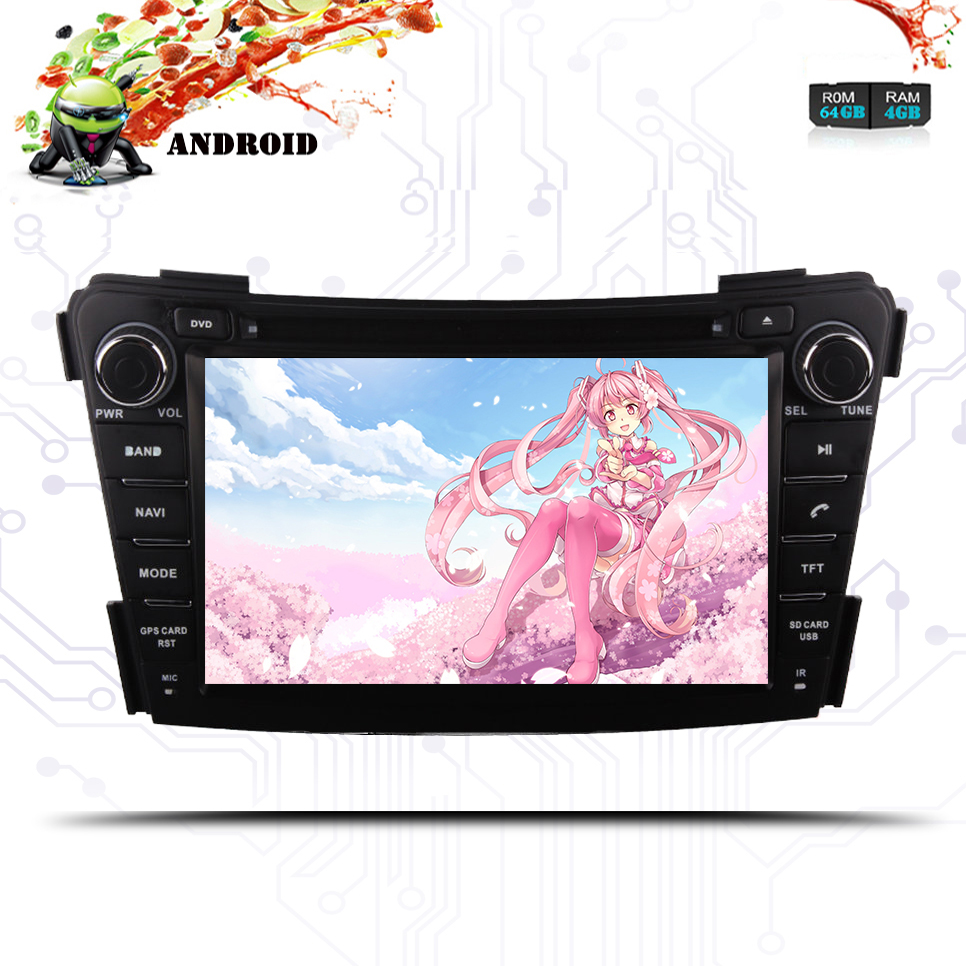 Android 9.0 car dvd <font><b>gps</b></font> for <font><b>hyundai</b></font> <font><b>I40</b></font> 2011-16 with Octa core 1024*600 2 DIN 4+64G wifi 4G usb auto Multimedia Stereo pc Screen image
