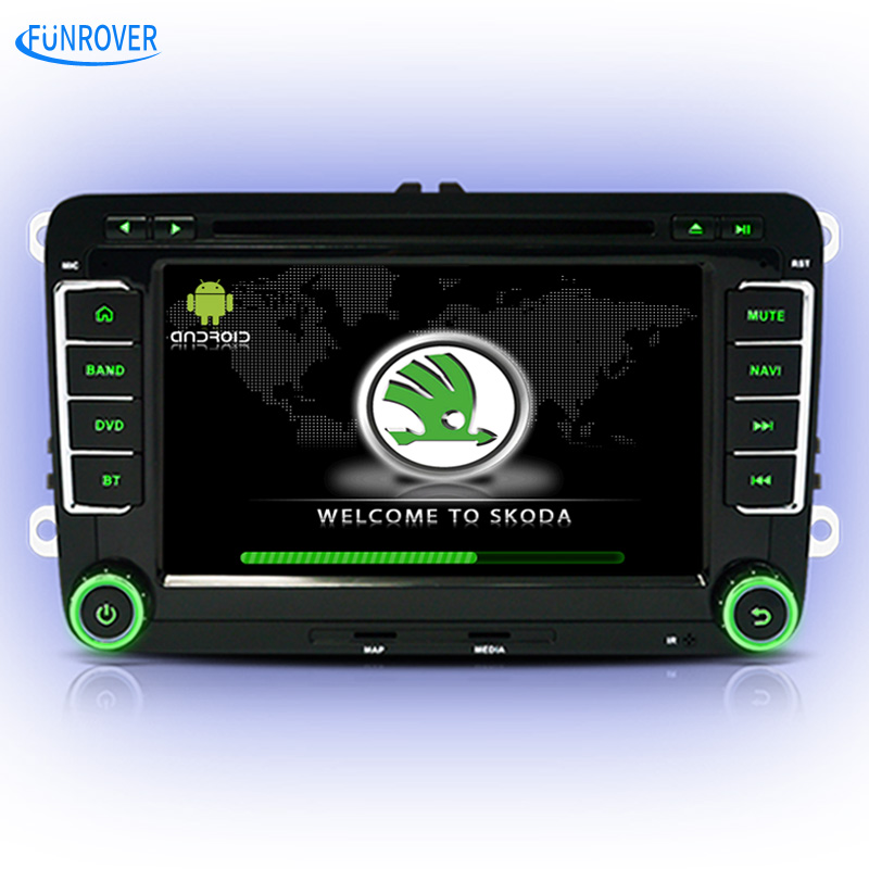 car DVD player for Skoda Octavia Fabia Rapid Superb Yeti font b android b font