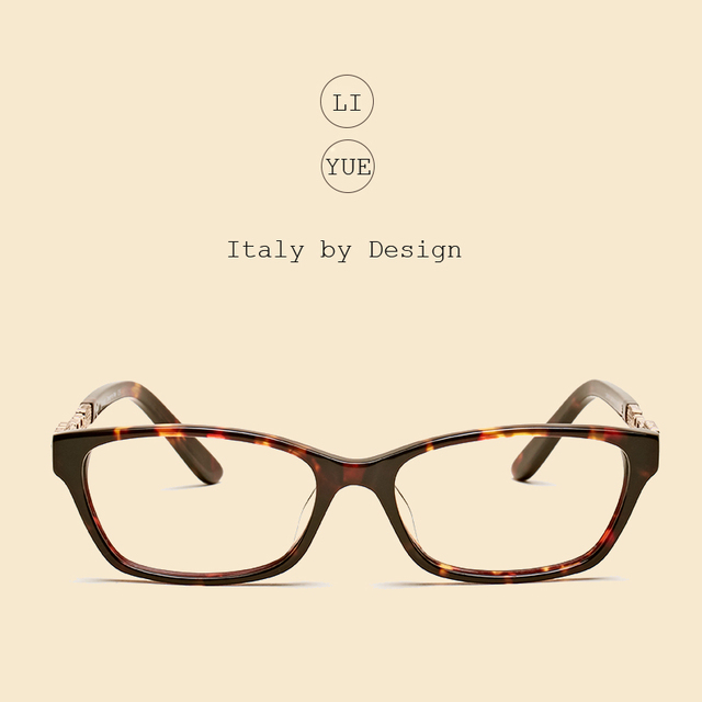ac347b379e LIYUE eye glasses frames for women Opitcal eyeglasses Frame myopia  Prescription eyewear Spectacles frame full rim