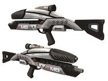 Mass Effect M8 Paper Model 1 1 Firearms Avenger Rifle Machine Gun Assault Rifle Models DIY