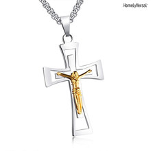 Simple fashion phone pendant decoration Church Relics Crucifix Jesus Christ On The Stand Cross Wall jewelry pendant hanging gift(China)