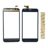 With Tape Touch Screen Sensor For Ark Benefit S502 Plus Touch Panel Digitizer Front Glass Lens Touchscreen free tracking number