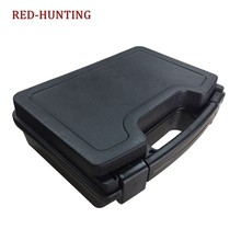 Hoge Kwaliteit ABS Tactical Hard Pistol Box Hunting Carry Case Gun Case Padded Foam Voering voor Jacht Airsoft(China)