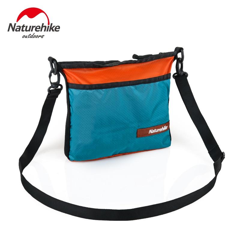 NatureHike Ultra-light Mini-messenger bag 20D Waterproof Handbag Men Women Concise Design outdoor single-shoulder bag