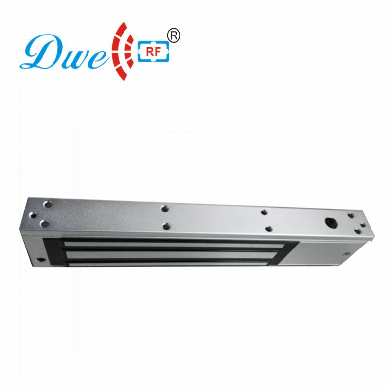 DWE CC RF electromagnetic lock 280kg 600lbs glass door electromagnet door locking with led light door status stainless steel gate lock with waterproof for wooden door glass door metal door fireproof door 280kg 600lbs electromagnetic lock
