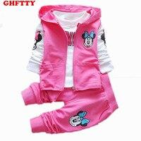 Manufacturers Selling Children S Winter Minnie Three Piece Suit Vest Children In One Generation