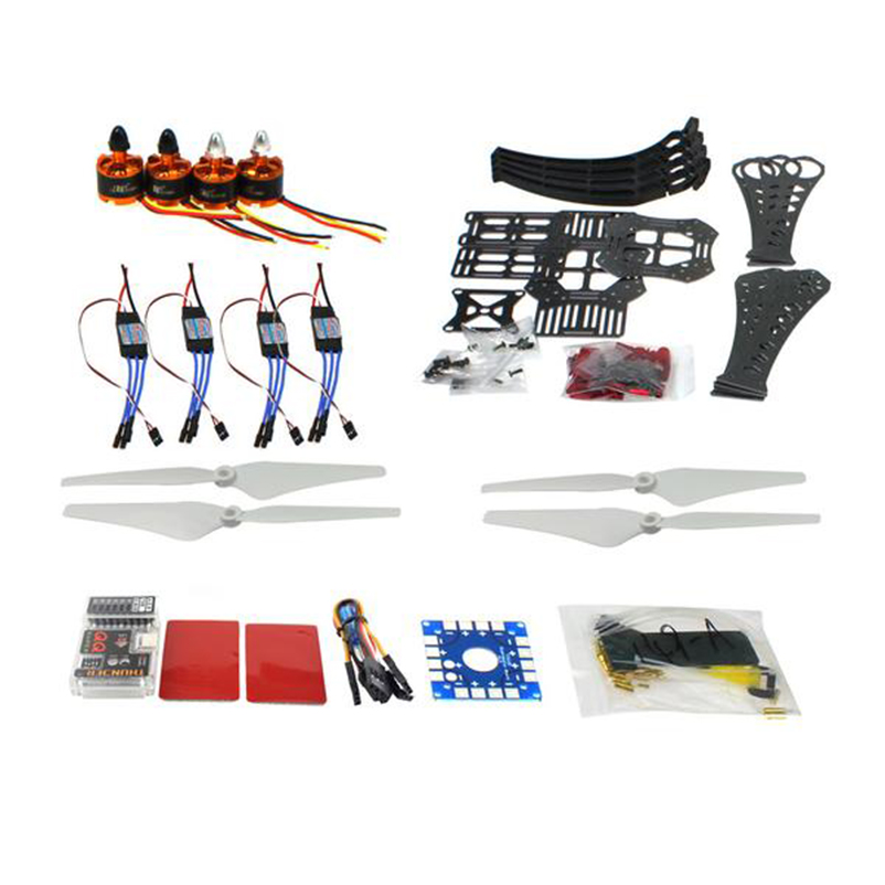 JMT DIY RC Drone Quadrocopter X4M360L Frame Kit QQ Super Flight Control mini drone rc helicopter quadrocopter headless model drons remote control toys for kids dron copter vs jjrc h36 rc drone hobbies