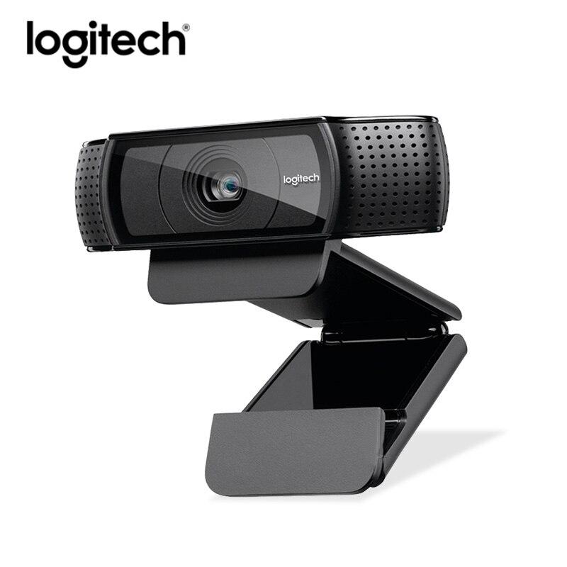 Logitech C920e hd Webcam Vidéo Chat Enregistrement Usb Caméra HD Smart 1080 p Caméra Web pour Ordinateur Logitech C920 mise à niveau version