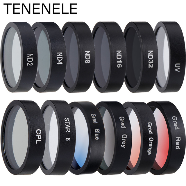 Mijia 4K Action Camera Filter Color/CPL/ND 2 4 8 16 32/UV Protect Lens Filters For Xiaomi mijia mini 4K Sport Camera Accessories