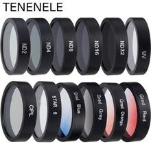 Фильтр для экшн камеры Mijia 4K, Цветные/CPL/ND 2 4 8 16 32/UV Защитные фильтры для объектива Xiaomi mijia mini 4K, аксессуары для спортивной камеры