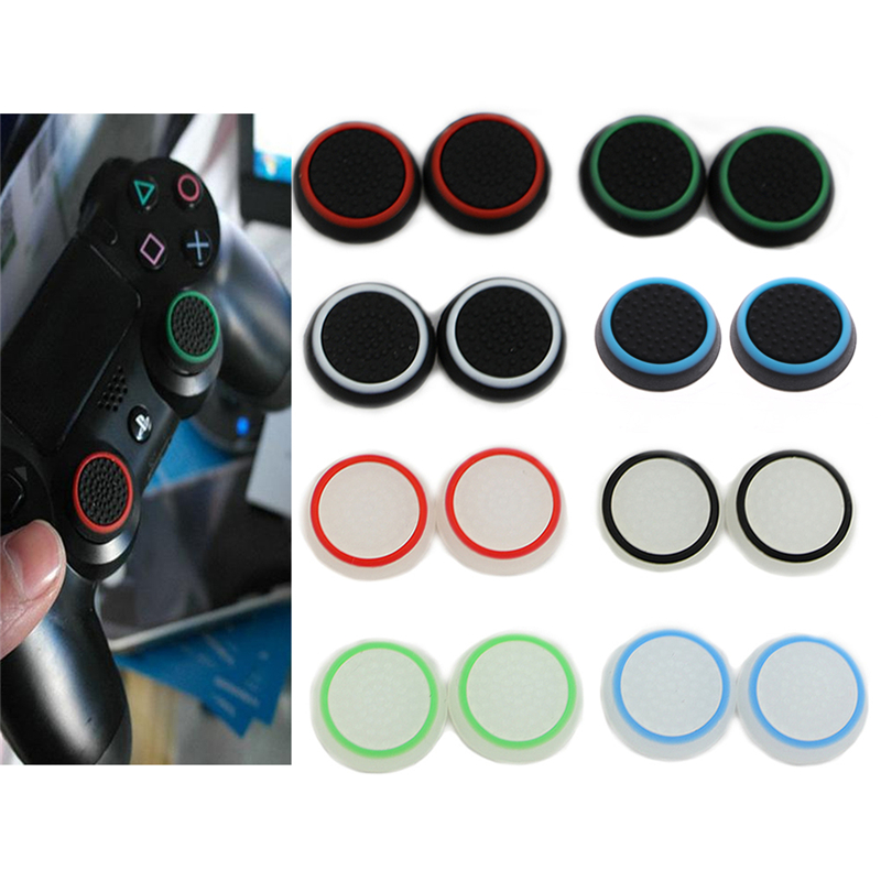 2pc Analog 360 Controller Thumb Stick Grip Thumbstick Cap Cover For PS4 XBOX ONE
