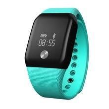 A88 + Bluetooth 4.0 умный Браслет крови кислородом сна монитор сердечного ритма шагомер мужские и женские часы напоминание для Android IOS