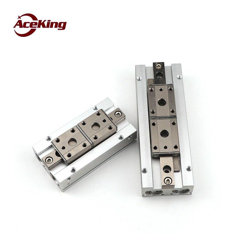 Thin air garra tipo SMC mhf2-8d 12D 16D 20D D1 D2 DR paralela slide tabela dedo cilindro trilho de guia de slides garra cilindro