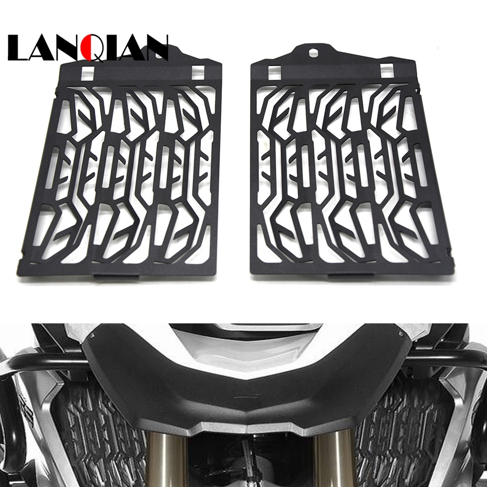 Radiator Cooler Grill Guard Cover Black For 2013-2016 BMW R1200GS//A ADV LC WC US