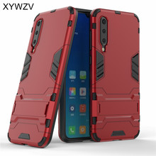 For Xiaomi Mi 9 SE Case Shockproof Armor Soft Rubber Hard PC Phone Back Cover Fundas