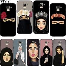 Hijab Girl Muslim Islamic Gril Eyes Arabic Case For Samsung Galaxy A7