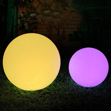 LED glow dome lights outdoor waterproof rechargeable glowing ball garden lawn lamp creative landing spherical lamp