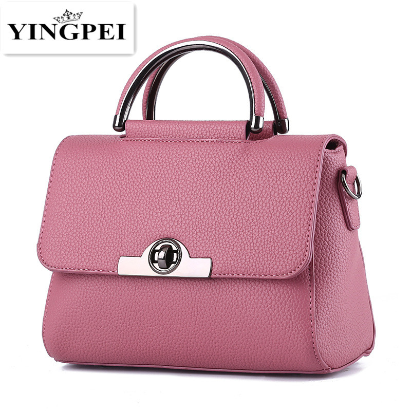YINGPEI Women Bags Casual Tote Women PU Leather Handbags Top-Handle Shoulder Bags Women Messenger Crossbody Bags Designer Bag women cow leather handbags women messenger bags designer crossbody bag women tote shoulder bag top handle bags