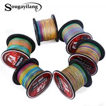 Sougayilang Braid Fishing 0.4-8# Braided Fishing Line Super