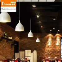 Голова Маленькая бар потолочный светильник современный минималистский столовая лампа личность кухня исследование столовая лампы и фонари