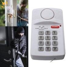 Высокое качество безопасности клавиатуры двери сигнализации системы с тревожной кнопкой для дома сарай гаража караван Лидер продаж