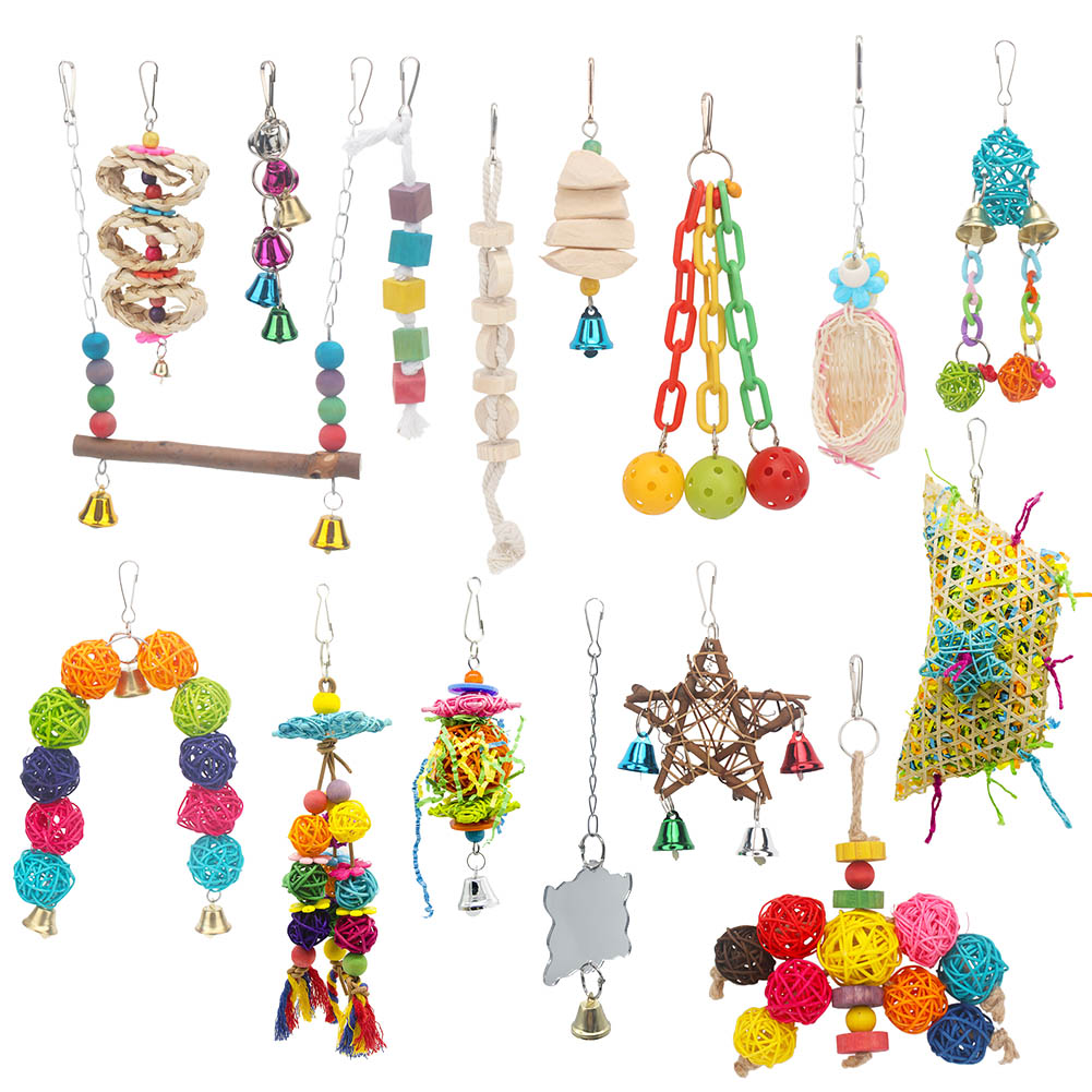 PipiFren Parrots Toys And Bird Accessories For font b Pet b font Toy Swing Stand Budgie